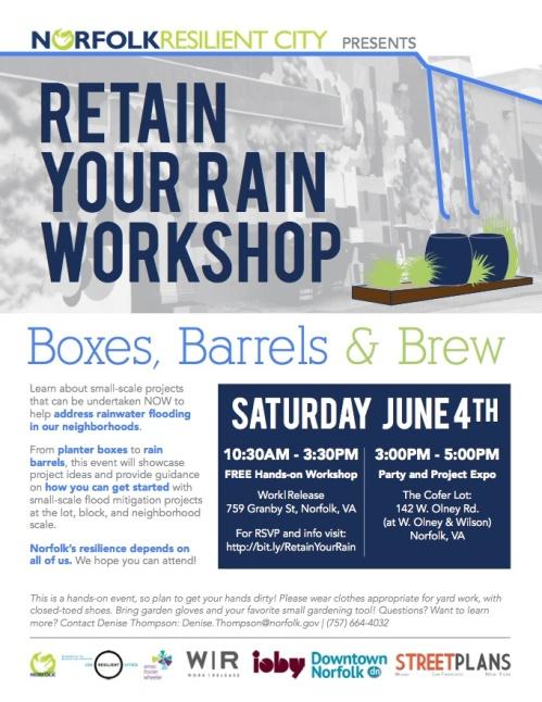 Retain Your Rain