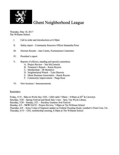 GNL Agenda 20170518